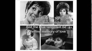 ALMA COGAN - Blue Tango(1952)with lyrics