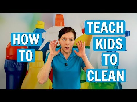How to Teach Kids to Clean Clean Your Room it's Fun!