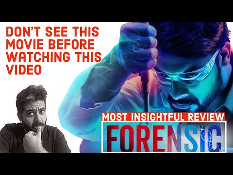 Forensic Full Movie Hindi Review Forensic Malayalam Movie Hindi Review Best Psycho Thriller Film Youtube