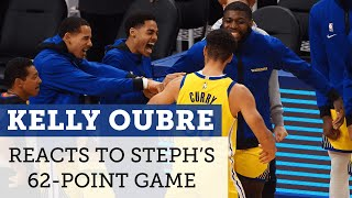 Kelly Oubre always expects Steph Curry to pull off the impossible for the Warriors | NBC Sports BA