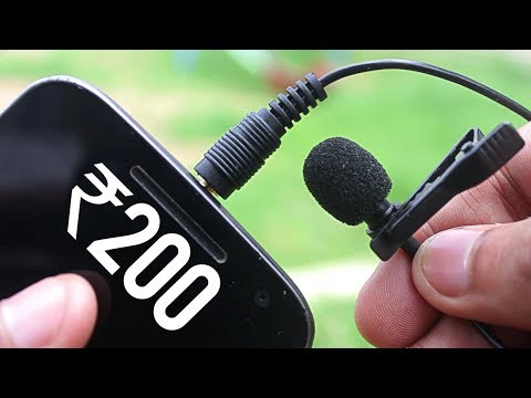 Cheap And Best  Mic For Youtube ! 200Rs Vs 8000Rs Mic !