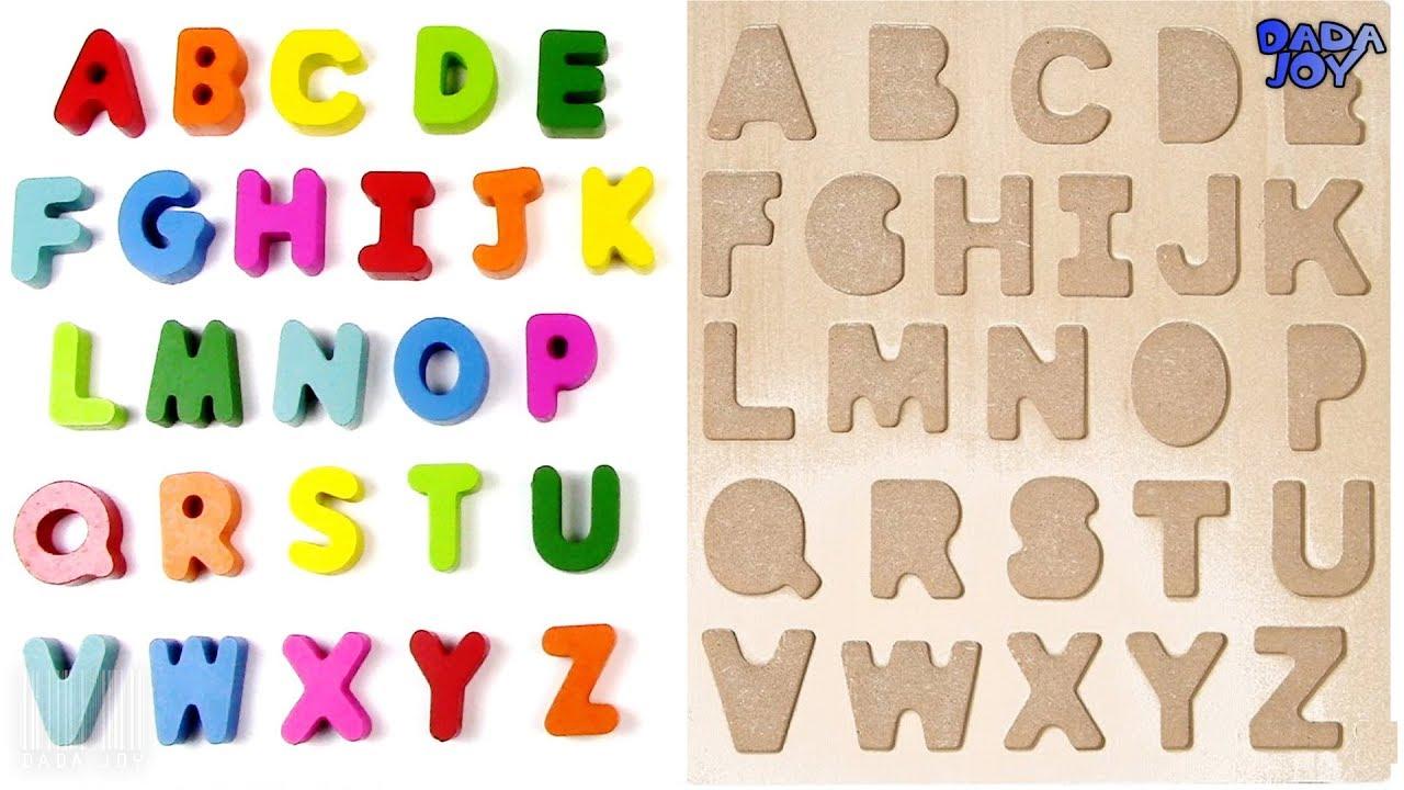 rompecabezas el abecedario el abecedario en español para niños