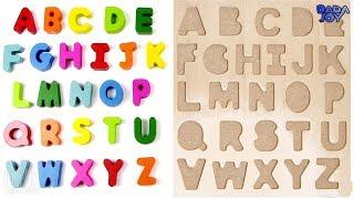 Rompecabezas el abecedario|El abecedario en español para niños|Aprenda el Alfabeto ABC