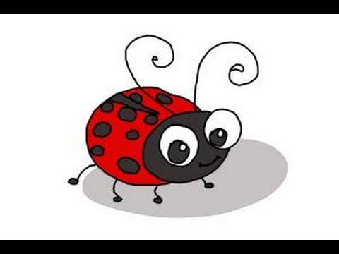 Image result for Lady Bird Cartoon Girl