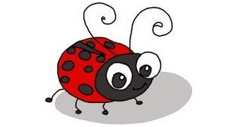 ladybug draw ladybird lady drawing bugs bug cartoon step drawings simple ladybugs easy sketches drawingnow face painting clip tutorial tattoo