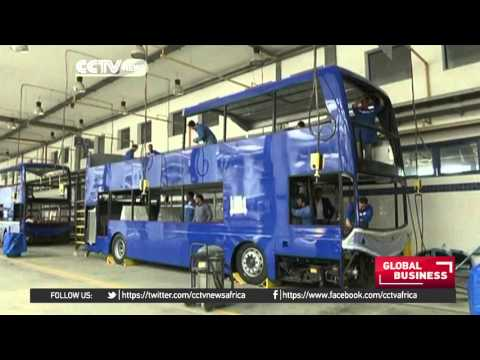 Egypt manufactures iconic buses for the United Kingdom