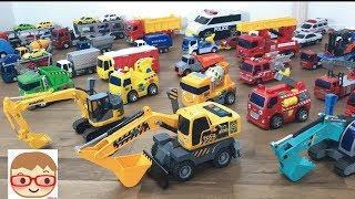 はたらくくるま 子供向けおもちゃ のりもの、重機のショベルカーなど 人気動画まとめ連続再生 thumbnail