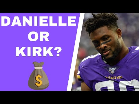Should Minnesota Vikings prioritize Kirk Cousins or Danielle Hunter?