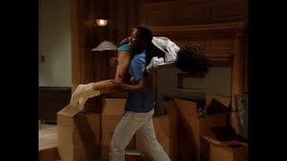 A Different World: 6x02 - Dwayne and Whitley in their new home