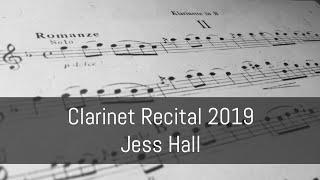 Stamitz: Concerto No. 3, movement 2 | 2019 Clarinet Recital