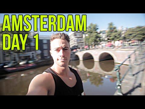 Amsterdam VLOG - Day 1