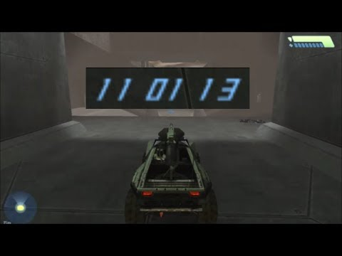 Halo 1 - Add More Time To The FInal Countdown Timer For The Warthog Run