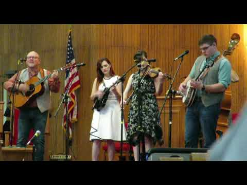 Trinity River Band featuring Sarah Harris-Hall in the morning worship service,15April2018.