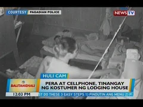 BT: Pera at cellphone, tinangay ng kostumer ng lodging house
