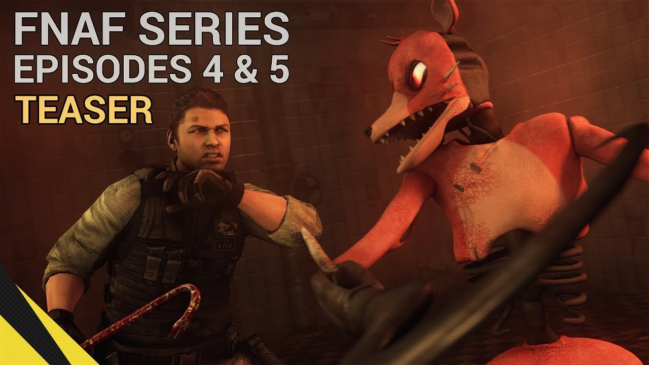 Download FIVE NIGHTS AT FREDDY'S SERIES (Episodes 4 & 5 Teaser) | FNAF Animation