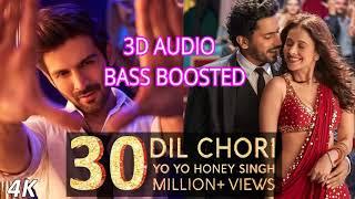 Yo Yo Honey Singh: DIL CHORI 3D Audio | Sima Kaur, Ishers | Hans Raj Hans | Sonu Ke Titu Ki Sweety