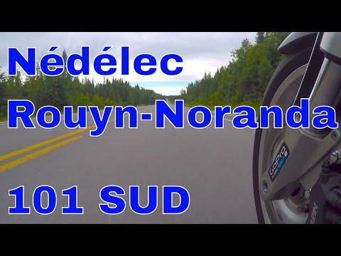 Les plus belles routes moto du Québec:  101 Sud, Nédélec - Rouyn-Noranda