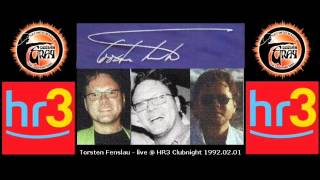 Torsten Fenslau - live @ HR3 Clubnight 1992.02.01