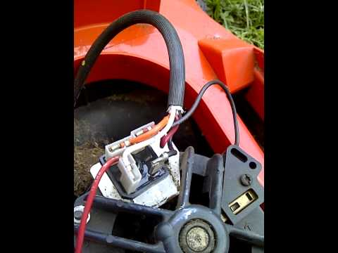 hqdefault repair electric lawnmower rectifier 72256 03 youtube wiring diagram for black and decker electric lawn mower at gsmportal.co