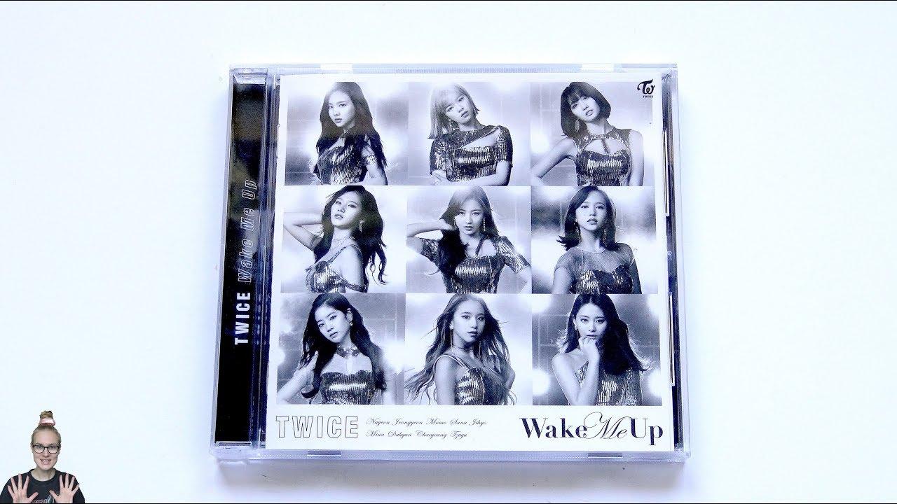 Unboxing Twice 3rd Japanese Single Album Wake Me Up Fanclub Once
