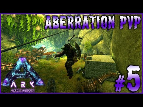 ARK ABERRATION PVP - #5 ►1ER KILL, SKILL EN PLANNEUR & TIROL