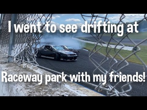 Me and my friends went to see drifting at Raceway park! (freedom moves)