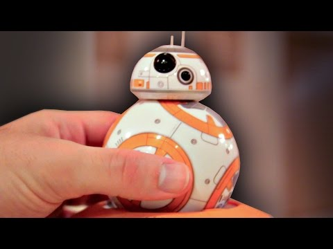 Hands-on with BB-8 Ball Droid Toy by Sphero! Star Wars Episode 7: The Force Awakens Toy Collection