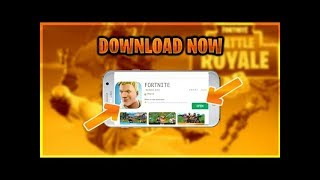 FORTNITE ON ANY ANDROID GOOGLE PLAY STORE!! DOWNLOAD FORTNITE FOR ANY ANDROID WITHOUT VERIFICATION!