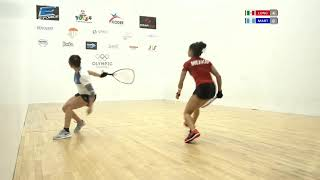 2018 Racquetball World Championships - Women's Singles Final - Martinez GUA vs Longoria MEX