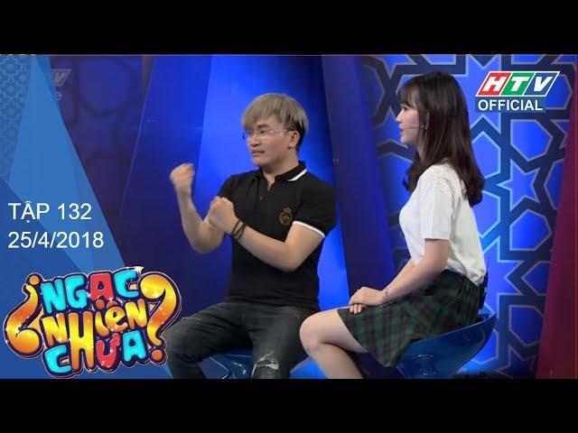 HTV NGẠC NHIÊN CHƯA   Jang Mi  - Juun Đăng Dũng   NNC #132 FULL   25/4/2018