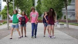 Kids dancing on the street  • Crew  First Class • Dance Show Video by Gammabit Films Video