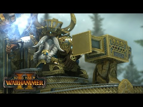 RUIN LORD   Dwarfs vs Dark Elves - Total War: Warhammer 2 Online Battle 21