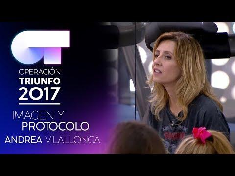 Clase de imagen y comunicación con Andrea Vilallonga | (11 NOV) | OT 2017