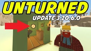 Unturned - NEW UPDATE! Wall Clock, Waypoints, Unturned 4 Coming?!? (Update 3.20.6.0)