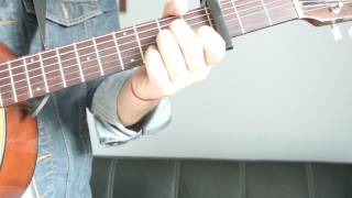 "Justin Bieber - ""As Long as You Love Me"" How to Play Guitar (Easy!! Guitar Tutorial!!)"