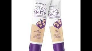 Review: Rimmel Stay Matte Liquid Mousse Foundation Thumbnail