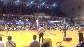 141028 unigames volleyball finals w dlsu nu set 2 3