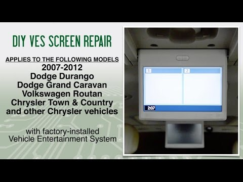 2007 2012 chrysler town country dodge vw routan ves fix youtube rh youtube com 2009 Dodge Charger Wiring Diagram 2011 Dodge Ram 4x4 Wiring Schematics