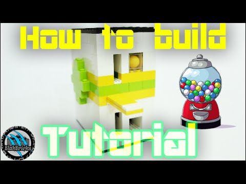 How To Build A Mini Lego Gumball Machine V4 Coin Rejetion