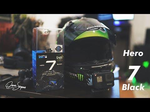 GoPro Hero 7 Black Unboxing + Motovlog Test STABIL BEUDD