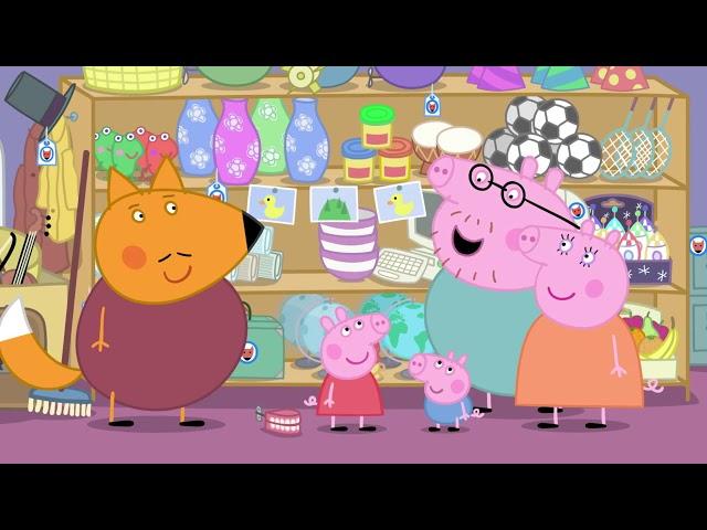 Peppa Pig 粉红猪小妹 第五季05【狐狸先生的商店】中文版