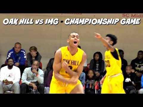 Oak Hill Vs IMG Academy!! In Front Of SOLD OUT Gym
