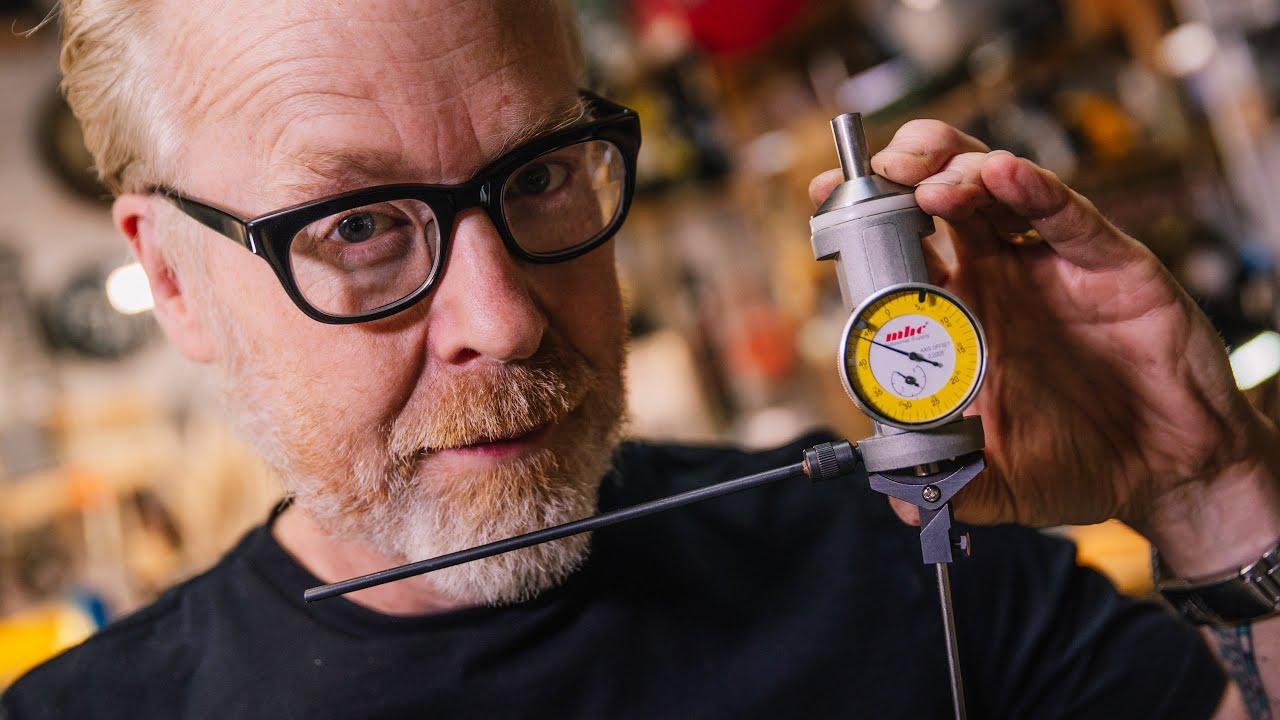 Adam Savage's Favorite Tools: Wiggler Machining Center-Finder