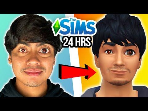 Doing Exactly What My SIM Does for 24 Hours  Challenge