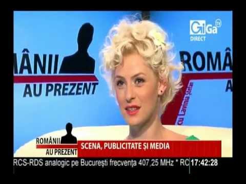 IOANA BLAJ La Romanii Au Prezent, Cu Lavinia Stefan - 18 Iulie 2012