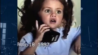 Top 5 Adorable Celeb' Videos When They Were Kids