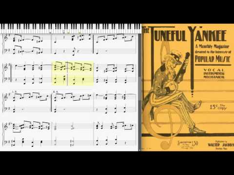 Hang Over Blues by George L. Cobb (1917, Ragtime piano)