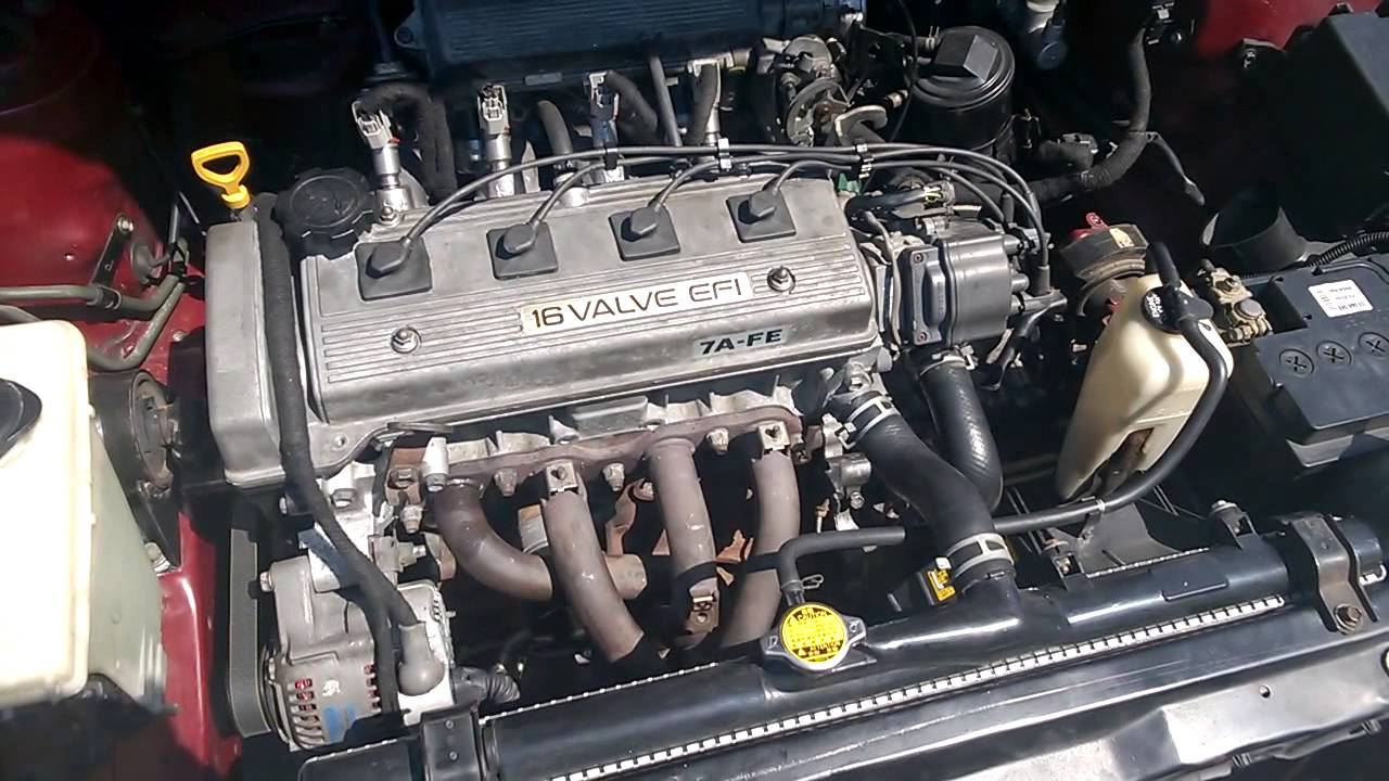 toyota engine corolla 7afe start ee101