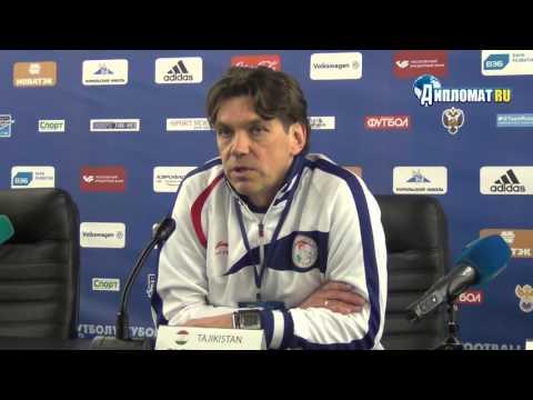 Главный тренер молодежной сборной Таджикистана Роман Пилипчук
