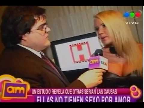 ¿Sexo con amor? con las chicas de la fiesta de revista Hombre - AM 17/09/09